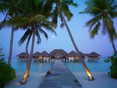 Maldiv adalarında istirahət