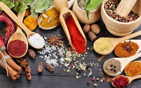 Правила использования специй в разных блюдах